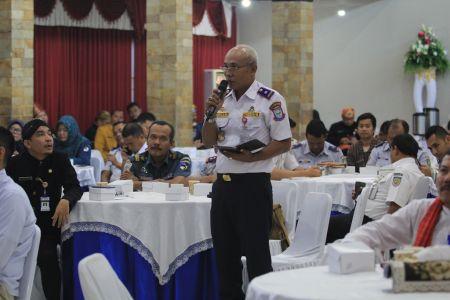 Rapat Forum Perangkat Daerah Penyusunan Renja Dishub Provinsi Jawa Tengah Tahun 2021, 27 Februari 2020