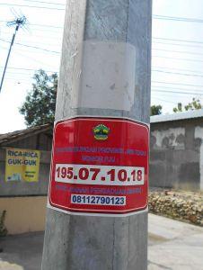 Kodifikasi Numerik Pada Alat Penerangan Jalan (KON PADANG)