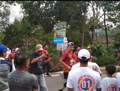 Pengaturan Parkir Dalam Event Borobudur Marathon 10K, 21K dan 42K