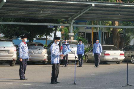 Upacara Memperingati Hari Kemerdekaan  Republik Indonesia 2020